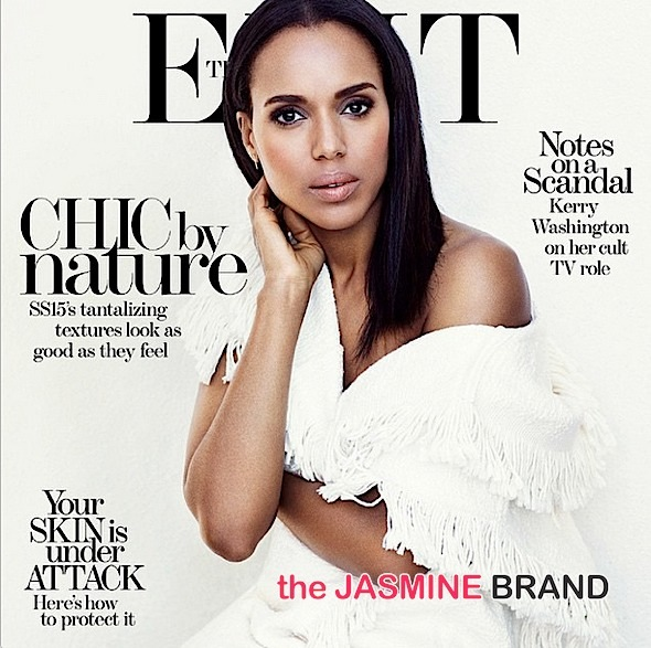 Kerry Washington On Her Cult TV Role: I live tweeted while in labor! + See 'The Edit' Cover! [Photos]