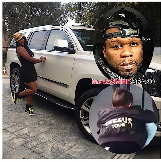 Kevin Hart Gifts Ex-Wife With New Whip, 50 Cent Publicly Shades 'Empire' + Baby North West Glides Through Airport