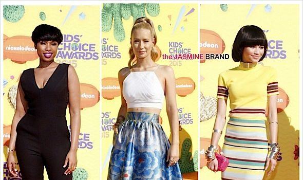 Kids' Choice Awards Red Carpet: Iggy Azalea, Nick Cannon, Jennifer Hudson, Chris Rock, Zendaya, Tia Mowry, Nick Jonas  [Photos]