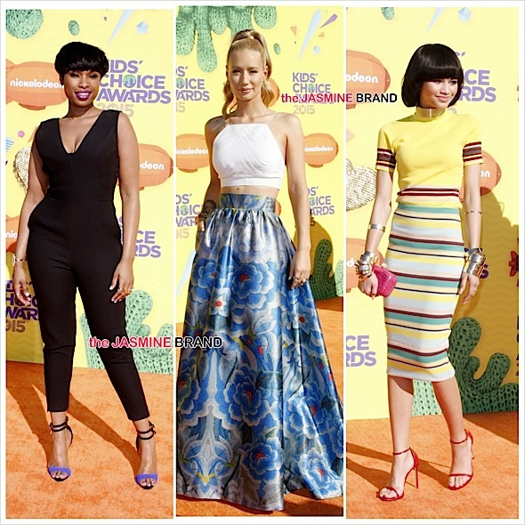 kids choice awards-iggy azalea-zendaya-the jasmine brand
