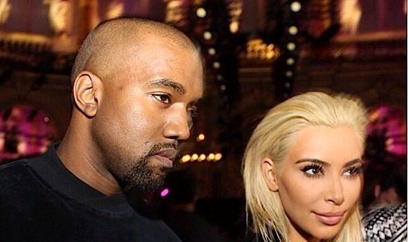 [Shock & Awe] Kim Kardashian Goes Platinum Blonde!