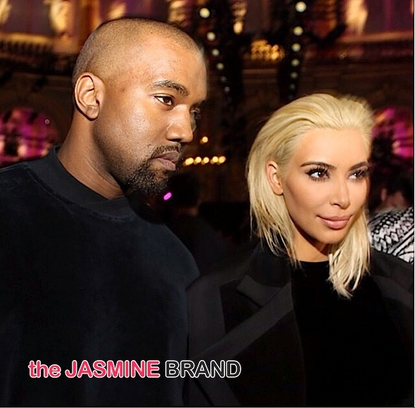 kim kardashian-blonde hair-paris fashion week-the jasmine brand