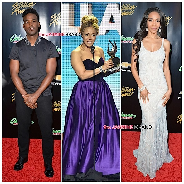 luke james-erica campbell-michelle williams-stellar awards 2015-the jasmine brand