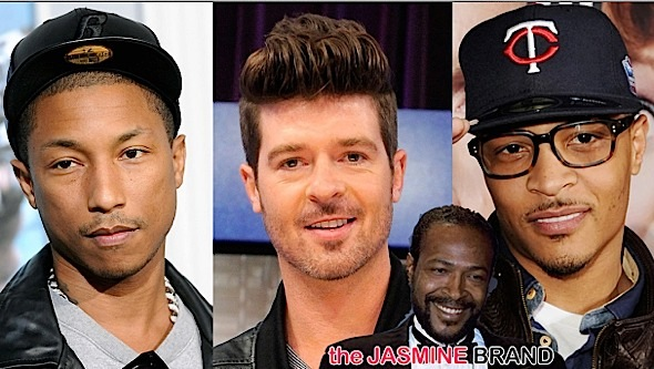 Marvin Gaye's Family Aiming for T.I. + Wants to Prevent Robin Thicke From Performing 'Blurred Lines'
