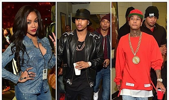 Chris Brown & Trey Songz Tour Hits ATL: R.Kelly, T.I., Keith Sweat, Future, Tyga, Monica & More Spotted [Photos]