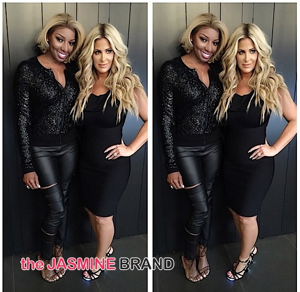 Kim Zolciak Pissed Nene Leakes Called Her Racist, Compared Her To KKK: She went too far!