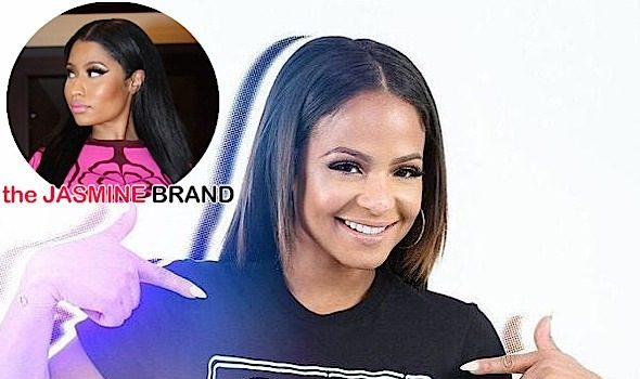 Nicki Minaj (Jokingly) Calls Christina Milian Out Over 'Fleek' Shirts: You owe me a percentage!