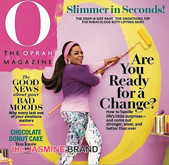 Oprah Pops With Color In Latest Cover + Will Lady O Make An 'Empire' Appearance?