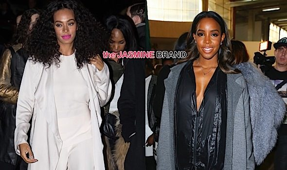 Celebs Invade Paris Fashion Week: Kelly Rowland, Solange, KimYe, Joan Smalls & More! [Photos]