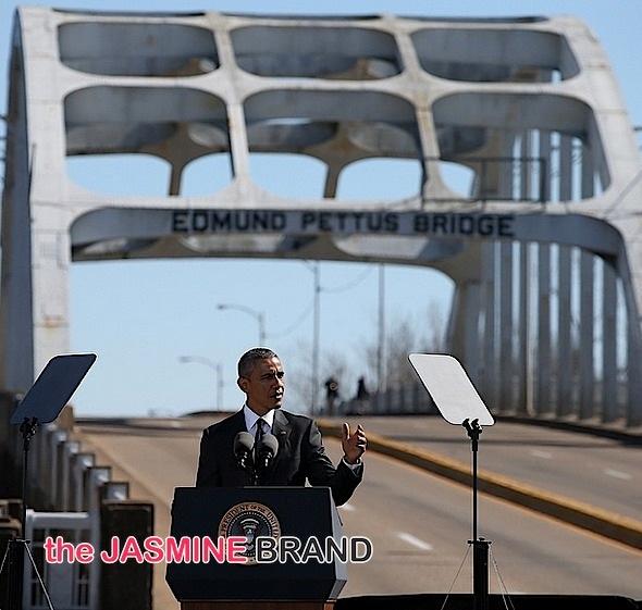 president obama-Bloody Sunday Selma 50 Anniversary-the jasmine brand