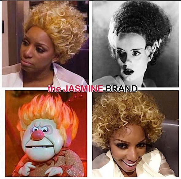 NeNe Leakes Pokes Fun of Her Frankenstein Reality TV Hair [Photos]