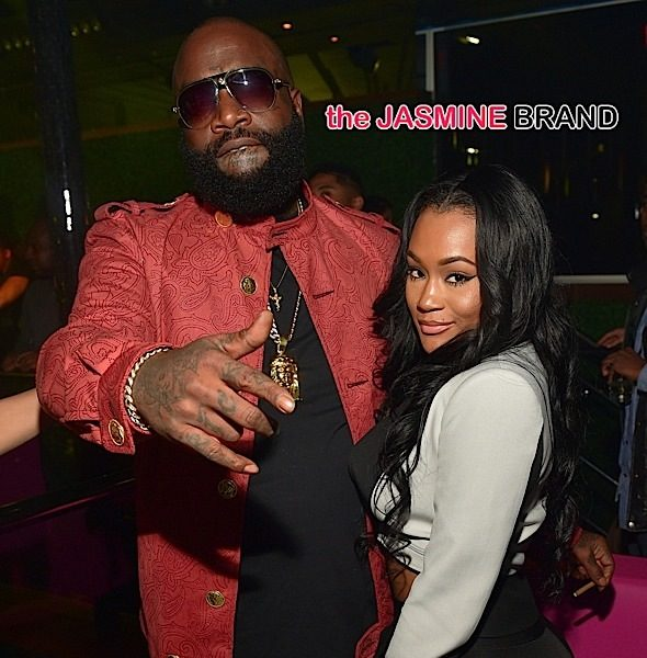 Rick Ross Spotted With Model Lira Galore + Keyshia Cole, Fabolous Party in ATL [Photos]