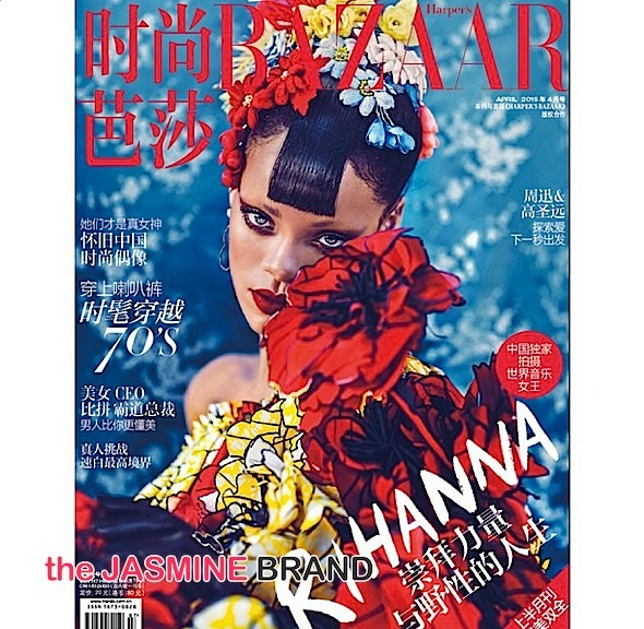 rihanna-harpers bazaar china-the jasmine brand