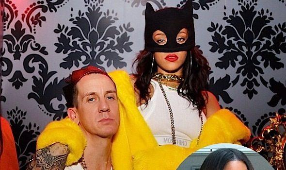 Rihanna & Katy Perry Hit Moschino's Paris Fashion Week Party + Kelly Rowland Hits PFW Shows [Photos]