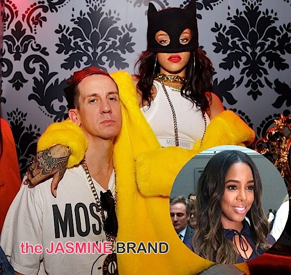Rihanna & Katy Perry Hit Moschino's Paris Fashion Week Party + Kelly Rowland Hits PFW Shows [Photos]