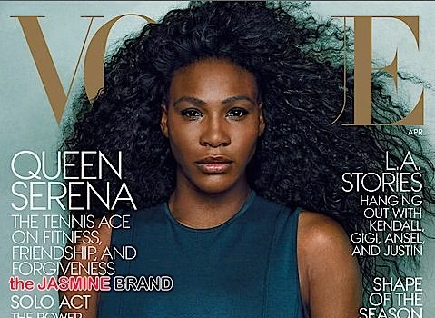 Serena Williams Talks Competition & Forgiveness With VOGUE [Photos]