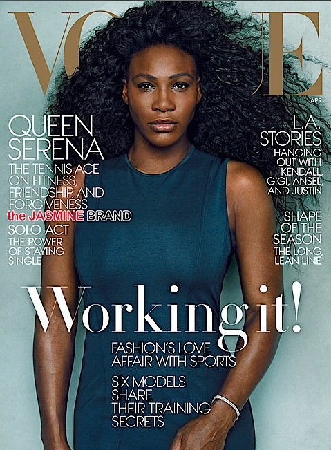 serena williams-covers vogue april 2015 issue-the jasmine brand