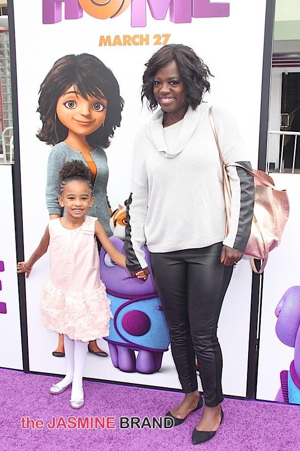 Viola Davis, daughter Genesis
