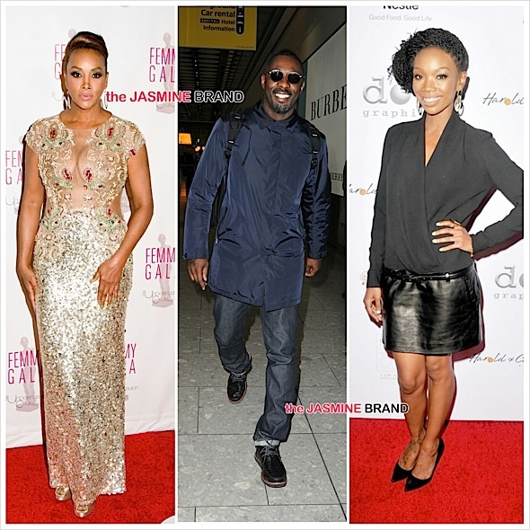 Vivica A. Fox, Idris Elba, Brandy