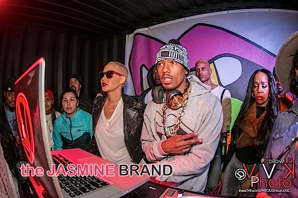 Amber Rose, Nick Cannon