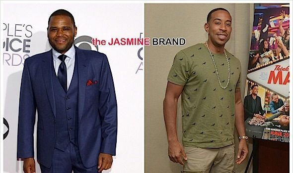 (EXCLUSIVE) Anthony Anderson Defends Ludacris In Daughter's Custody Case