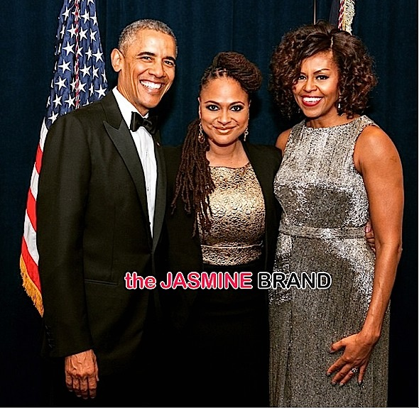 Ava DuVernay-With President Obama-First Lady Michelle Obama-White House Correspondents Dinner-the jasmine brand