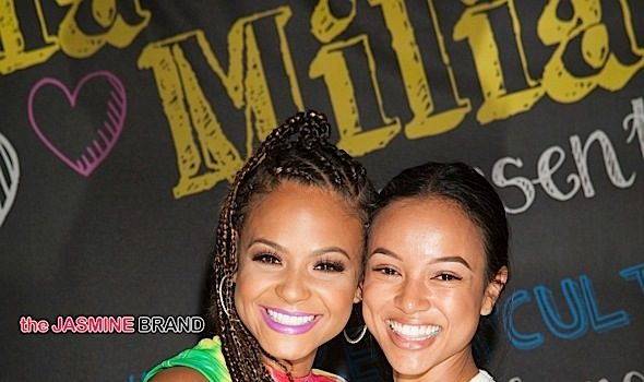 Christina Milian Greets Fans At Shiekh Shoes Event + BFF Karrueche Tran Spotted [Photos]