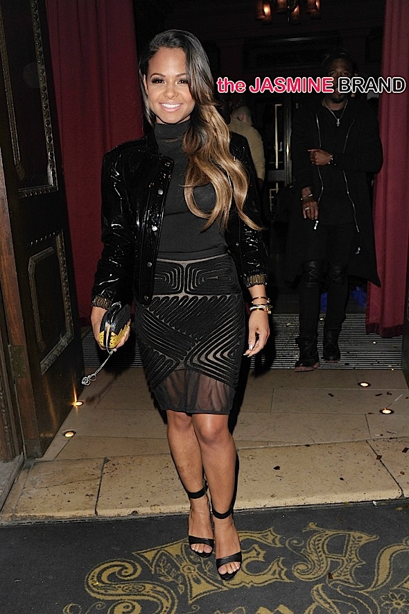 Christina Milian in London