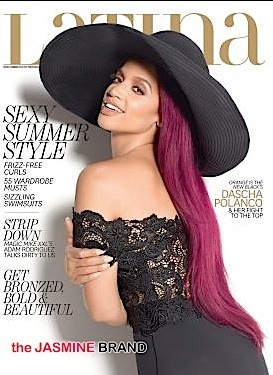Dascha Polanco Covers Latina-the jasmine brand