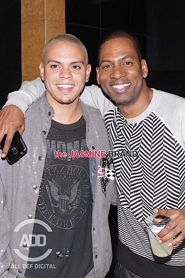 Evan Ross Tony Rock