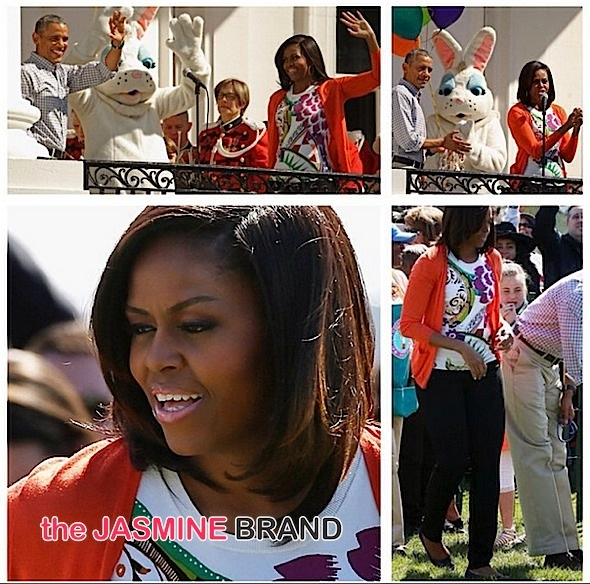 First Family Hosts Annual Easter Egg Roll & 'GimmeFive': Diggy Simmons, Michael Strahan, Anthony Anderson, Fifth Harmony Attend [Photos]