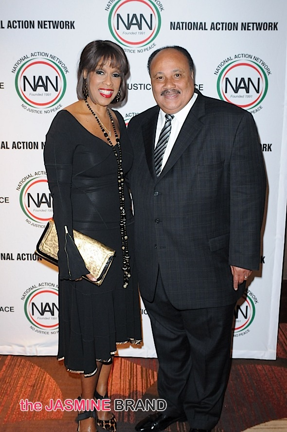 Gayle King, Martin Luther King III