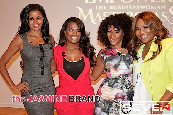 Claudia Jordan, Kandi Burruss, Miko Branch, Mona Scott-Young
