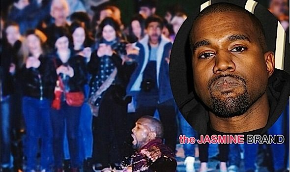 Kanye West Plunges Into Lake During Free Armenia Concert [VIDEO]