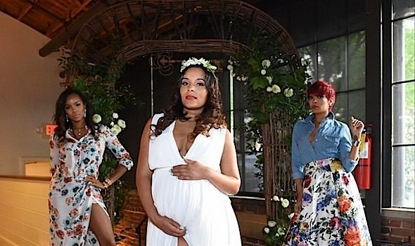 Ludacris' Wife Eudoxiee Celebrates Baby Shower: Monica, LeToya Luckett, Monyetta Shaw Attend [Photos]
