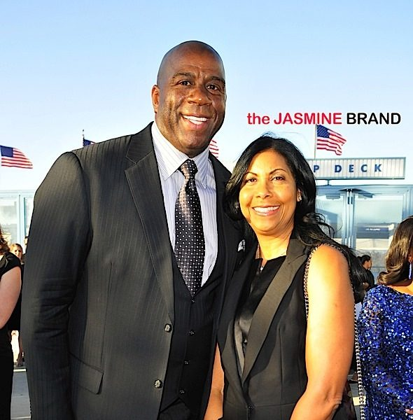 Los Angeles Dodgers Blue Diamond Gala: Rachel Robinson, Magic Johnson, Aloe Blacc, Naturi Naughton [Photos]
