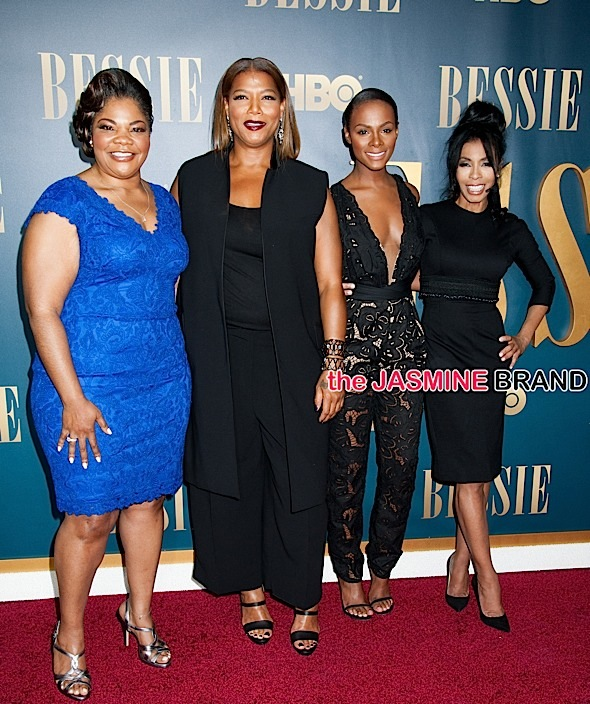 Mo'Nique, Queen Latifah, Tika Sumpter. Khandi Alexander