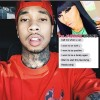Model Blac Chyna Exposes Tyga Text Messages-the jasmine brand