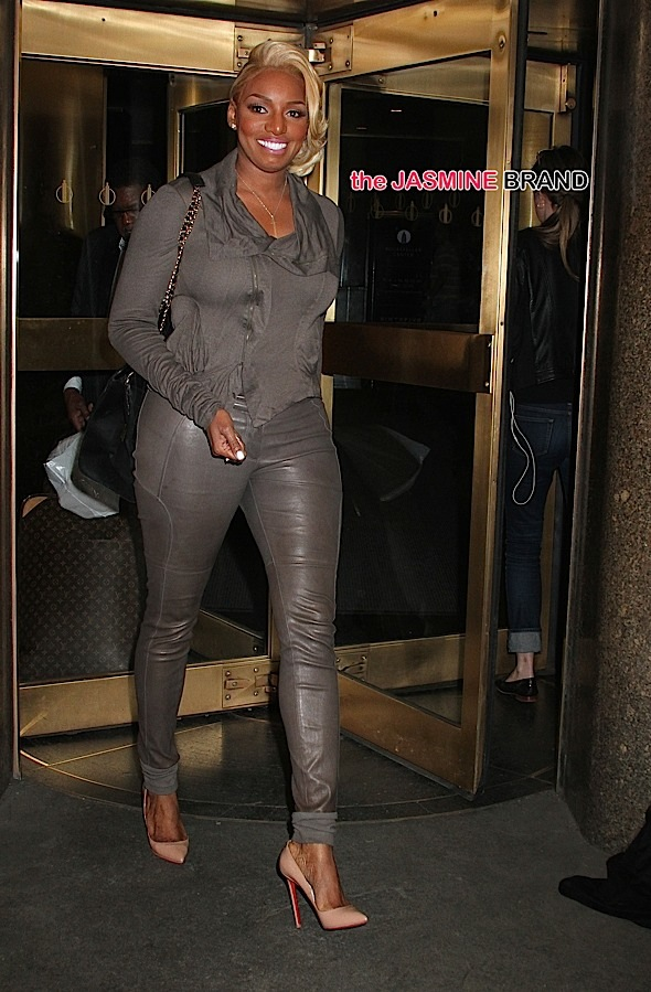 NeNe Leakes spotted leaving NBC Studios in Rockefeller Center, NYC
