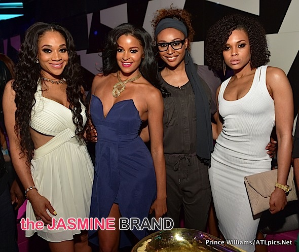 Claudia Jordan, Teyana Taylor, Mimi Faust, Cynthia Bailey, Demetria McKinney Party in the A [Photos]