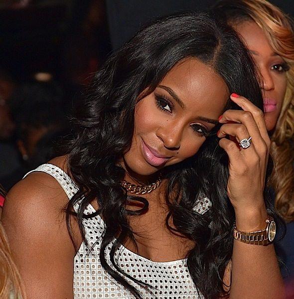 Kelly Rowland Celebrates Ludacris' Album Release Party [Photos]