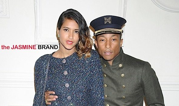 Pharrell Williams & Wife Helen Welcome Triplets