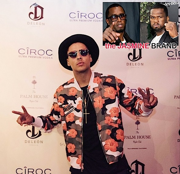 Quincy Addresses 50 Cent's Beef With His Father Diddy-the jasmine brand