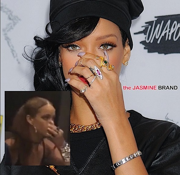Rihanna-Denies Sniffing Coke in Viral Video-the jasmine brand