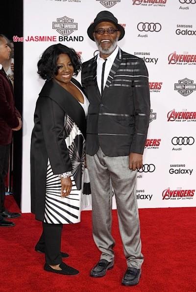 Samuel L. Jackson & wife LaTanya Richardson