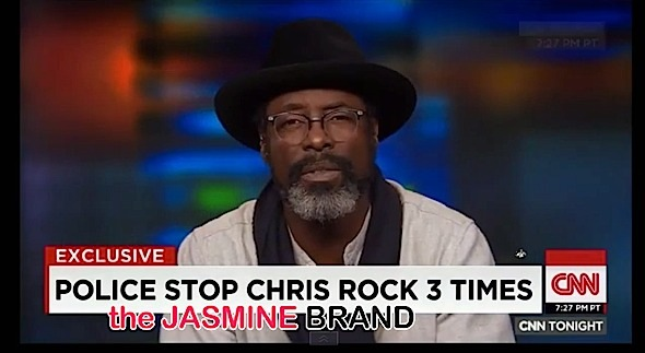 Isaiah Washington Clarifies Telling Chris Rock to 'Adapt', to Prevent Racial Profiling [VIDEO]