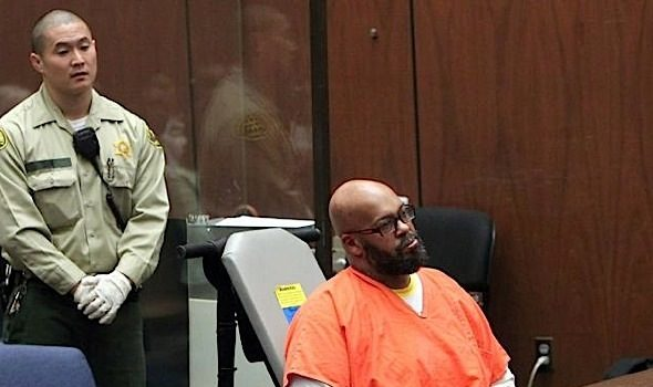 Suge Knight Chained to Wheelchair For Court Appearance [VIDEO]