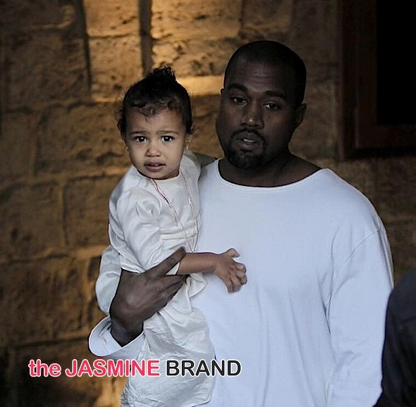 North West Gets Baptized in Israel! [Photos]