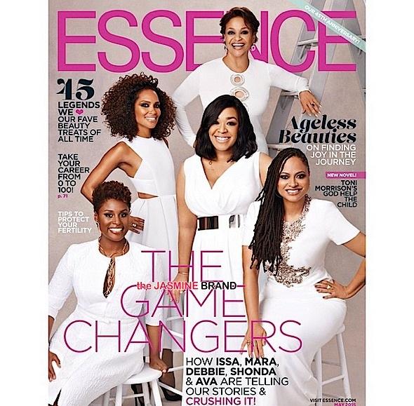 Shonda Rhimes, Debbie Allen, Ava DuVernay, Mara Brock Akil Cover Essence-the jasmine brand