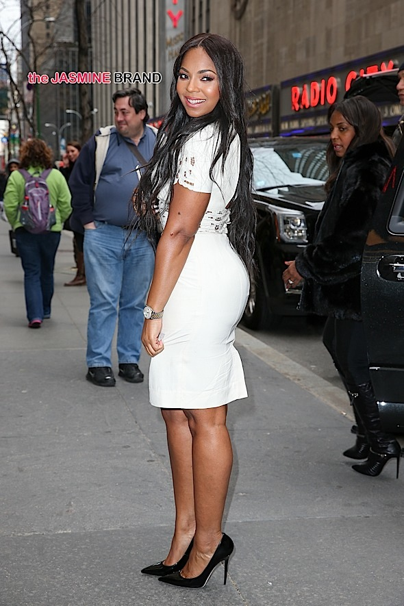 Ashanti looks radiant while leaving the NBC studios after her appearance on 'The Meredith Vieira Show' in New York City
